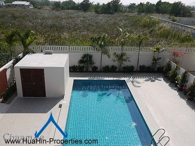 Cha-Am luxury pool villa for rent