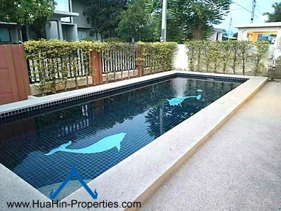 Luxury house with pool in Hua Hin for rent