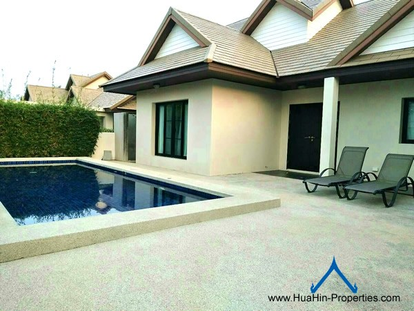 Pool Villa near Bluport for rent