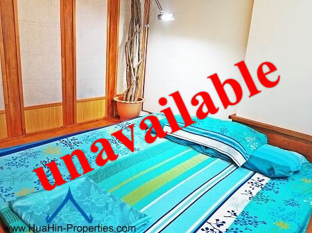Quiet condo for rent Cha-Am
